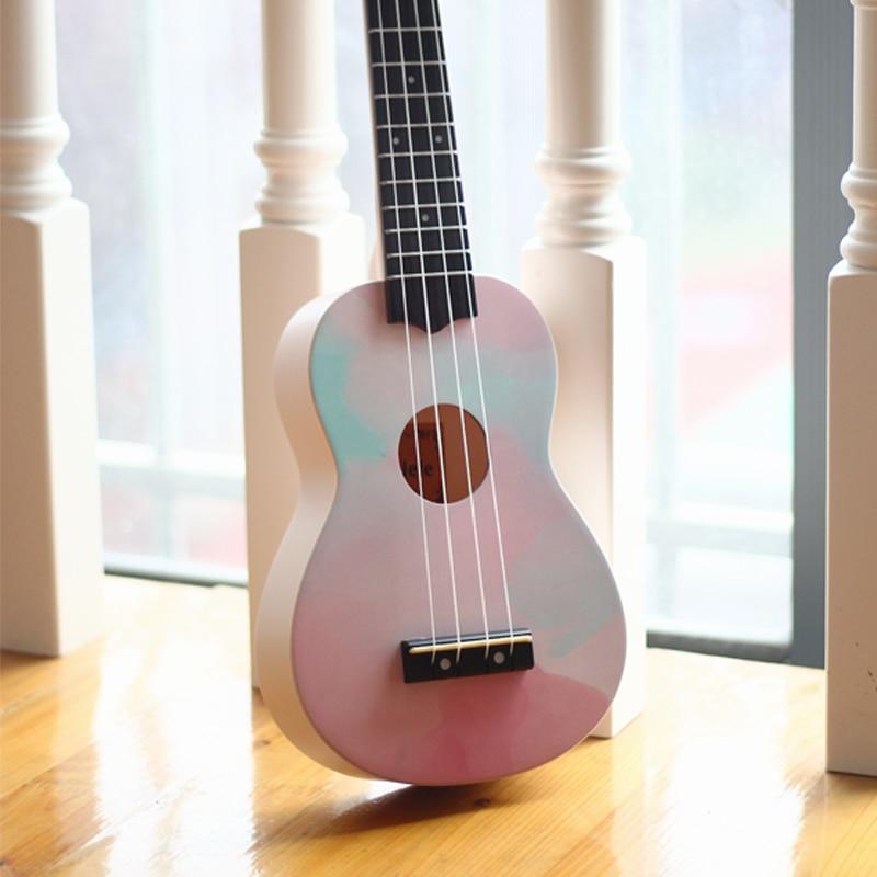 Tenor Original Ukulele Barato Color Wood Gloss Set Accessories Pink Small Guitar Kit Travel Cute Perform Guitarra Music ZZ50YL enlarge