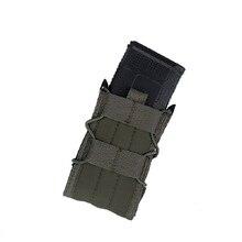 M4 전술 단일 Molle 잡지 파우치 군사 육군 조끼 액세서리 가방 TMC3359-RG