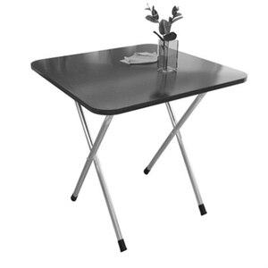 Маленький стол, простой домашний складной маленький стол, маленький домашний квадратный стол для аренды, портативный и модный