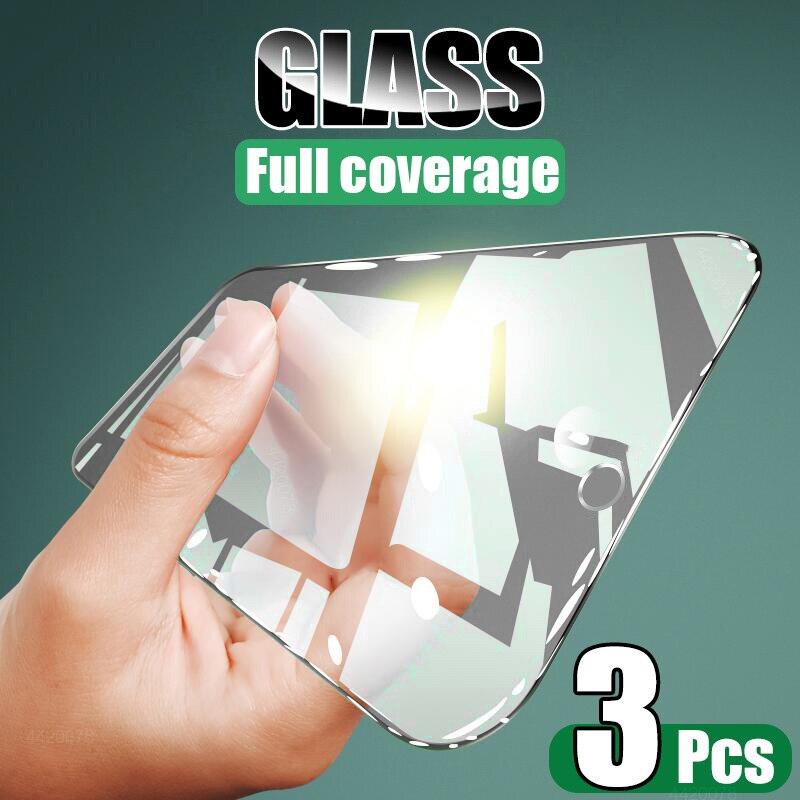 Vidrio templado de cobertura completa para Samsung Galaxy A51, A71, A50, A70, Protector de pantalla para Samsung A10, A20, A20E, A40, A60, A70, A80 y M20
