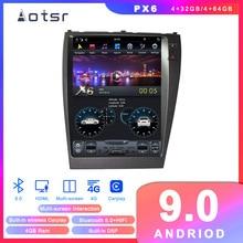 Reproductor de DVD para coche Android 9 estilo Tesla navegación GPS para Lexus ES350 ES300 ES330 2006 + reproductor Multimedia estéreo de Radio para coche