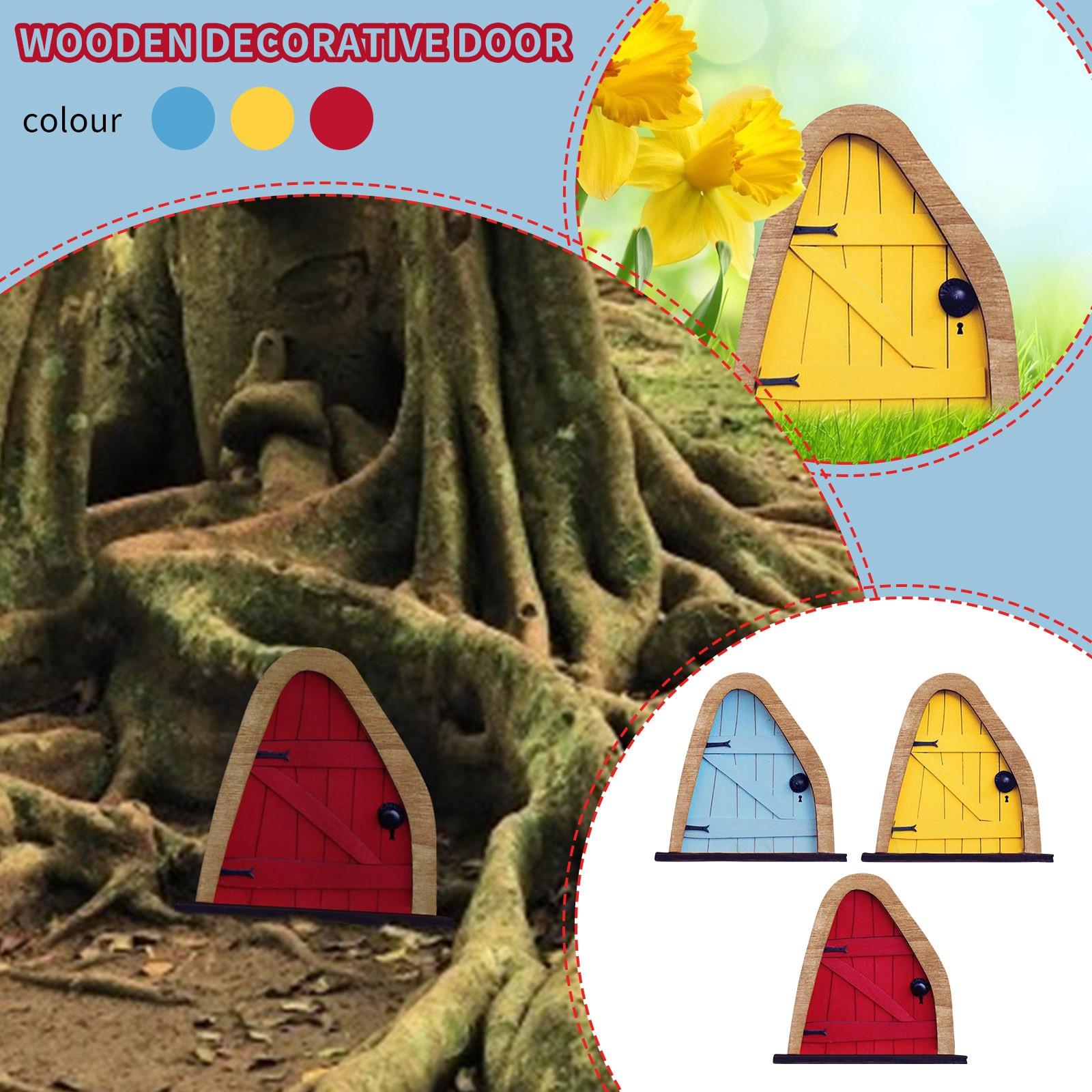 Dormir de 3D DIY decoración de la puerta de madera Kit para...