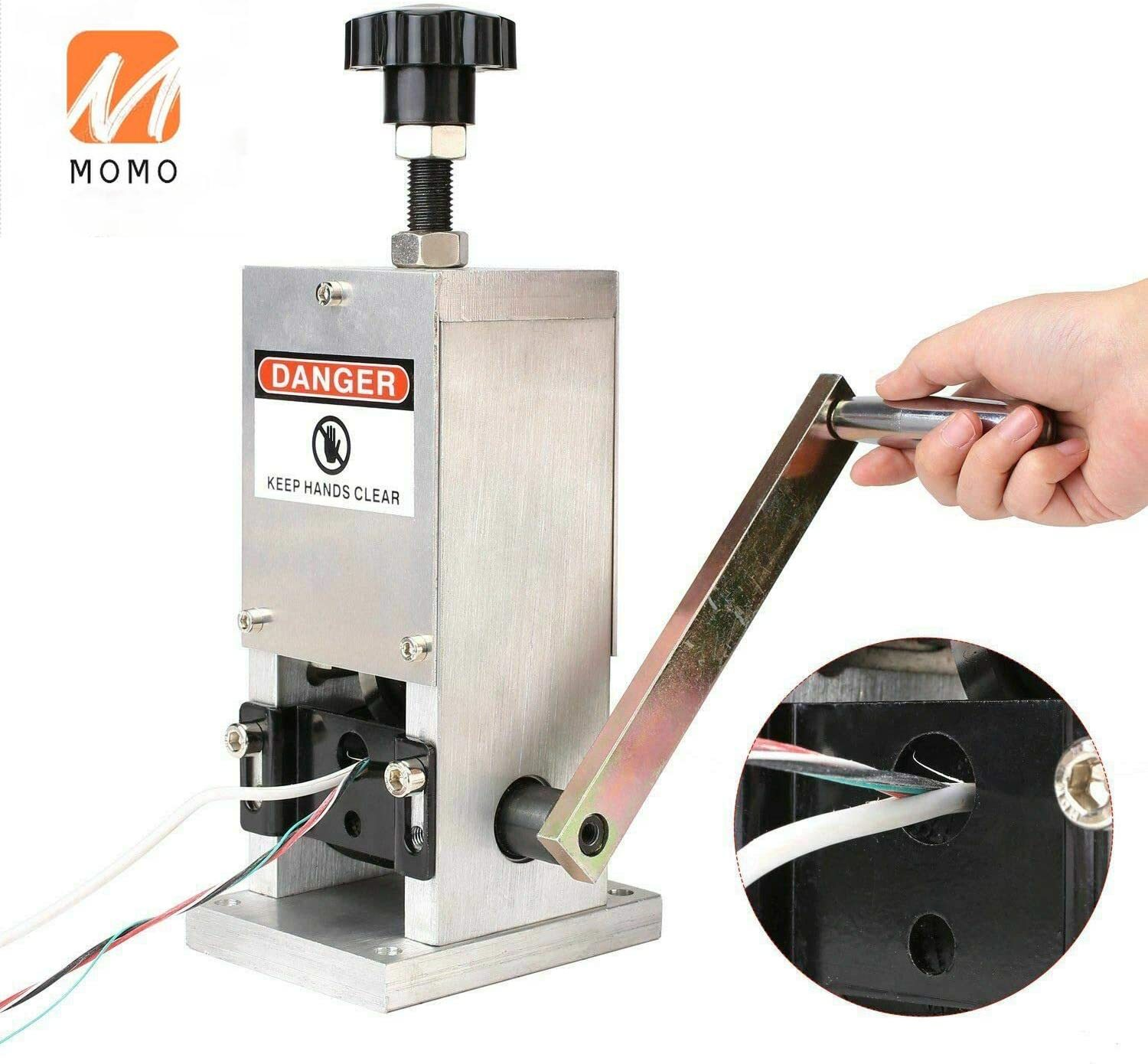 Copper Wire Stripping Machine Scrap Recycle Tool Manual Cable Stripper enlarge