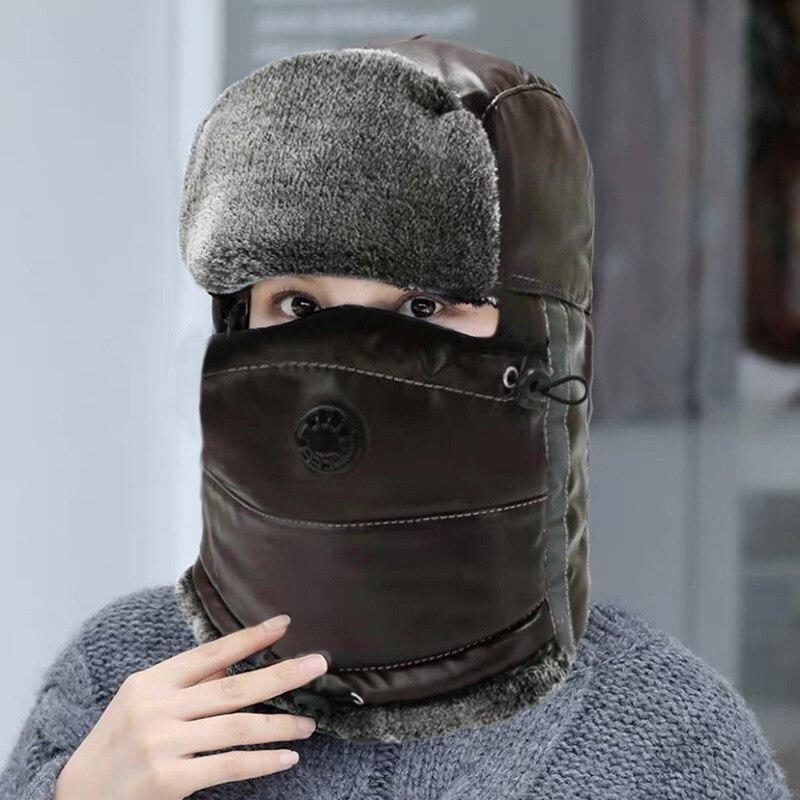 New Winter Thick Furry Headband Bomber Russian Hats Fluffy Faux Fur Women Hairband Hats Outdoor Warm