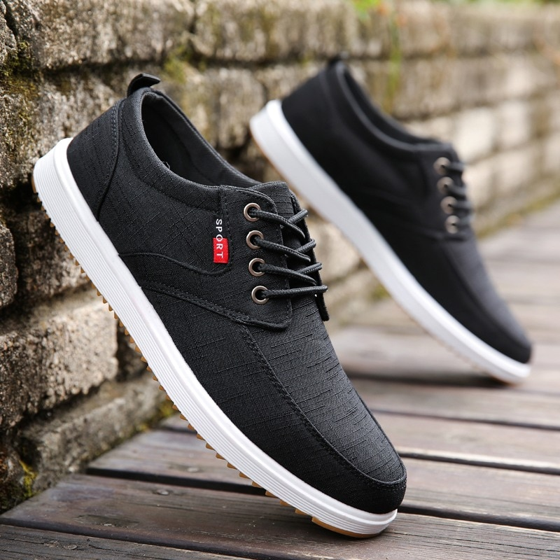 Fashion Shoes Walking Men Casual 2020 Spring Hot Sale Sweat-Absorbant Breathable Canvas