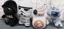 Recién llegado Star Wars El despertar de la fuerza BB-8 Robot de R2-D2 Anime lindo juguete de peluche suave cumpleaños niños bebé regalo