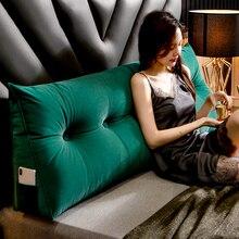 Canapé Long coussin dossier salon grand Rectangle lavable Tatami oreiller européen lit dossier canapé moderne décor à la maison