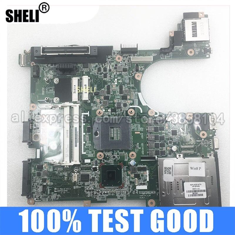SHELI FOR HP 686971-501 شحن مجاني Probook 8570P لوحة الأم للكمبيوتر المحمول 686971-601 686971-001 SLJ8A DDR3