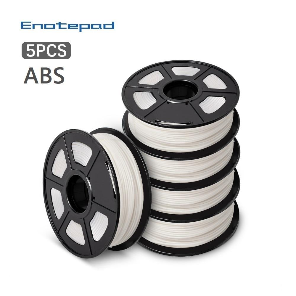 Inotepad-خيوط ABS ثلاثية الأبعاد ، 1.75 مللي متر ، 1 كجم ، قضيب لحام بلاستيكي مع تعبئة دقيقة 100% بدون فقاعة ABS