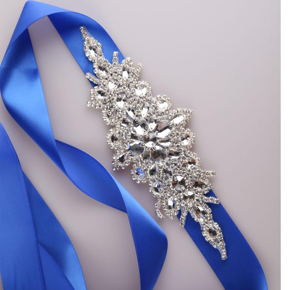 YJWSXF bridal belt wedding dress ladies evening rhinestone pearl accessories