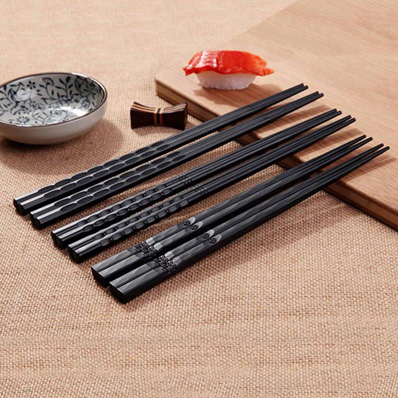Pair 1 Chinese Tableware Chopsticks Japanese Sushi Stick Alloy Non Slip Chopsticks Reusable Chopsticks Food Stick Chopsticks Aliexpress