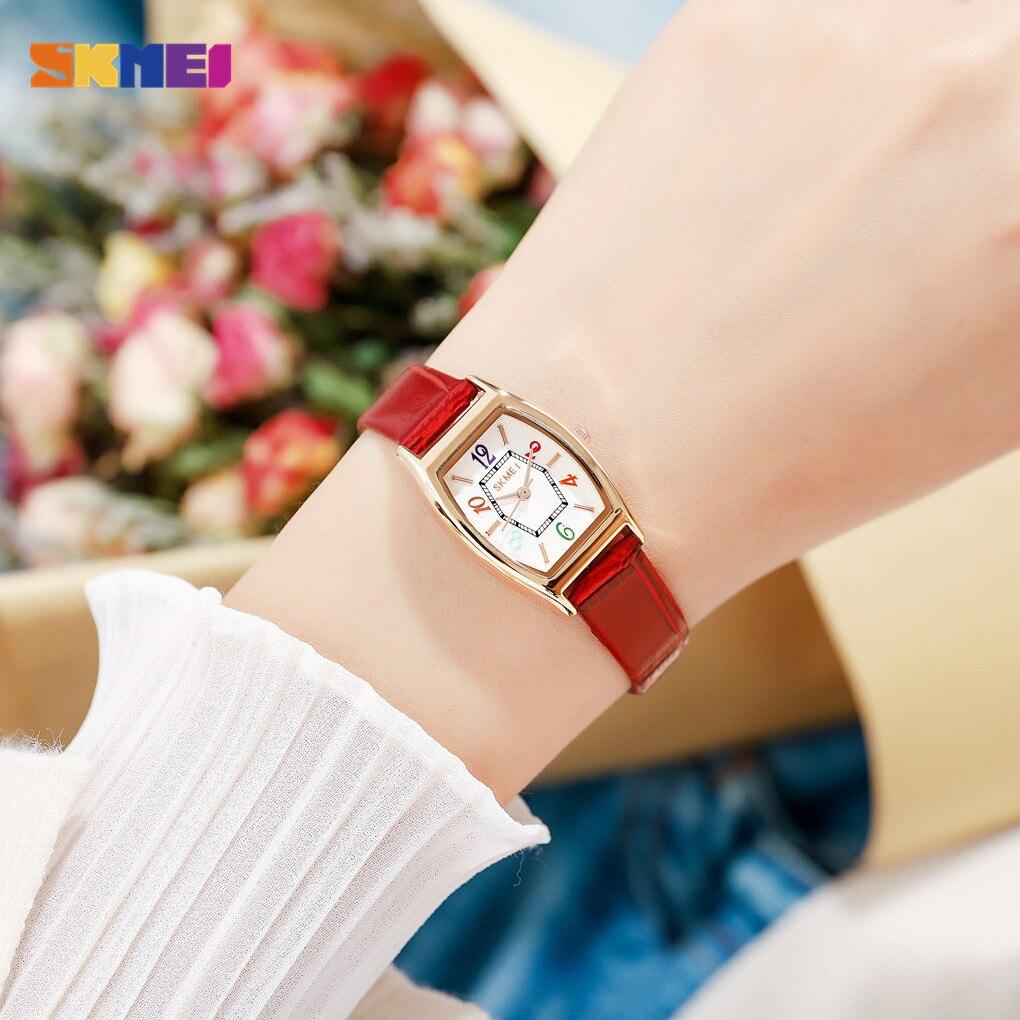 2021 SKMEI Small Size Ladies Wristwatches Casual Women Quartz Watches Top Brand Fashion Female Girl Clock Relogio Feminino 1781 enlarge