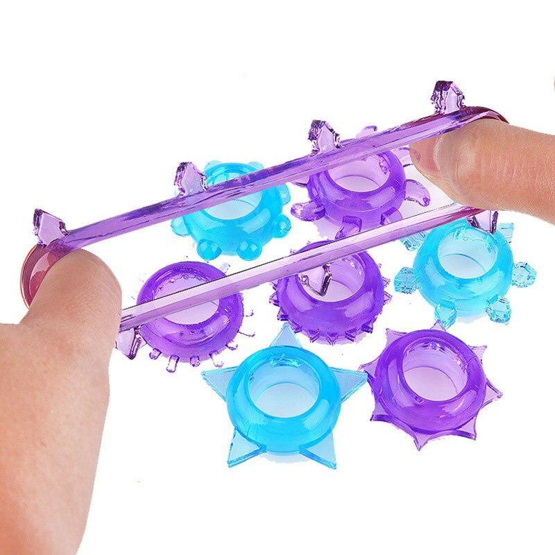 5 шт., страсть, силиконовое кольцо для пениса, задержка эякуляции, многоразовое кольцо для пениса, удлинитель, эротические секс-игрушки для мужчин, презервативы для члена