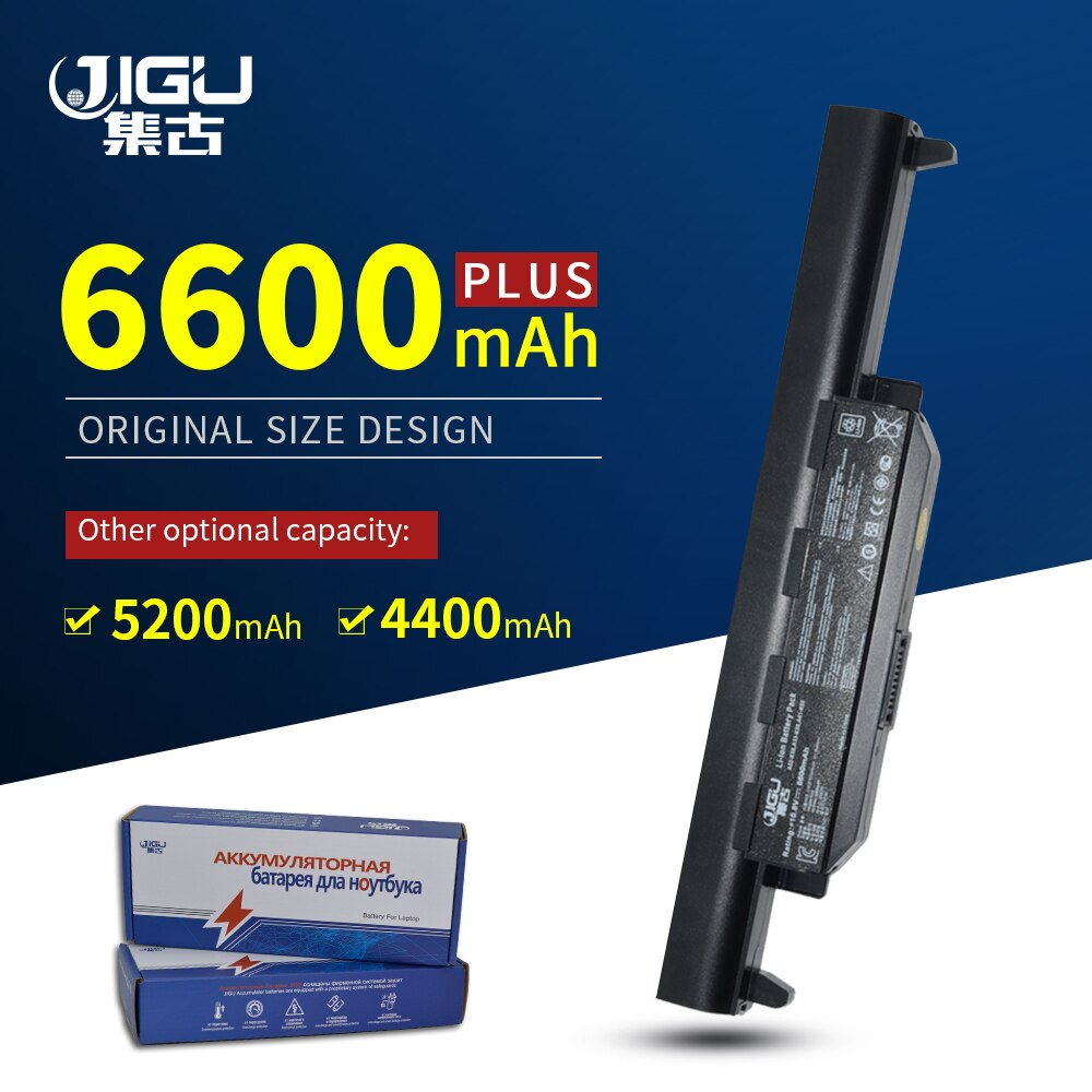 JIGU 6 celdas Raplacement, batería para ordenador portátil, A32-K55 A41-K55 para Asus A45 A55 A75 K45 K55 K75 R400 R500 R700 U57 X45 X55 X75 serie