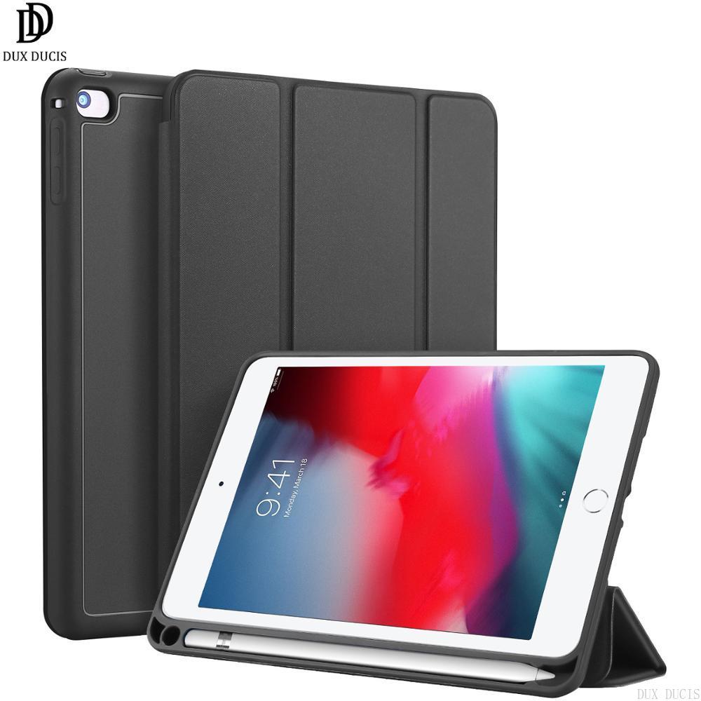 "Dux Ducis Flip caso para Apple iPad Mini 2019 mini 5 4 7,9 ""parachoques soporte inteligente para automóbil sueño funda Tablet caso"