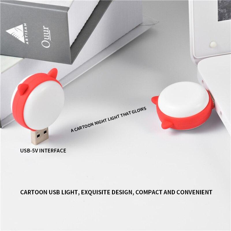 Portable USB LED Mini Book Light Reading Light Table Lamp Flexible 3-5V USB Lamp for Power Bank Laptop Notebook PC Computer