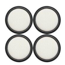 4 pièces filtres Hepa pour aspirateur Dibea DW200 TT8 M500 pièces de rechange filtres à poussière accessoires de rechange