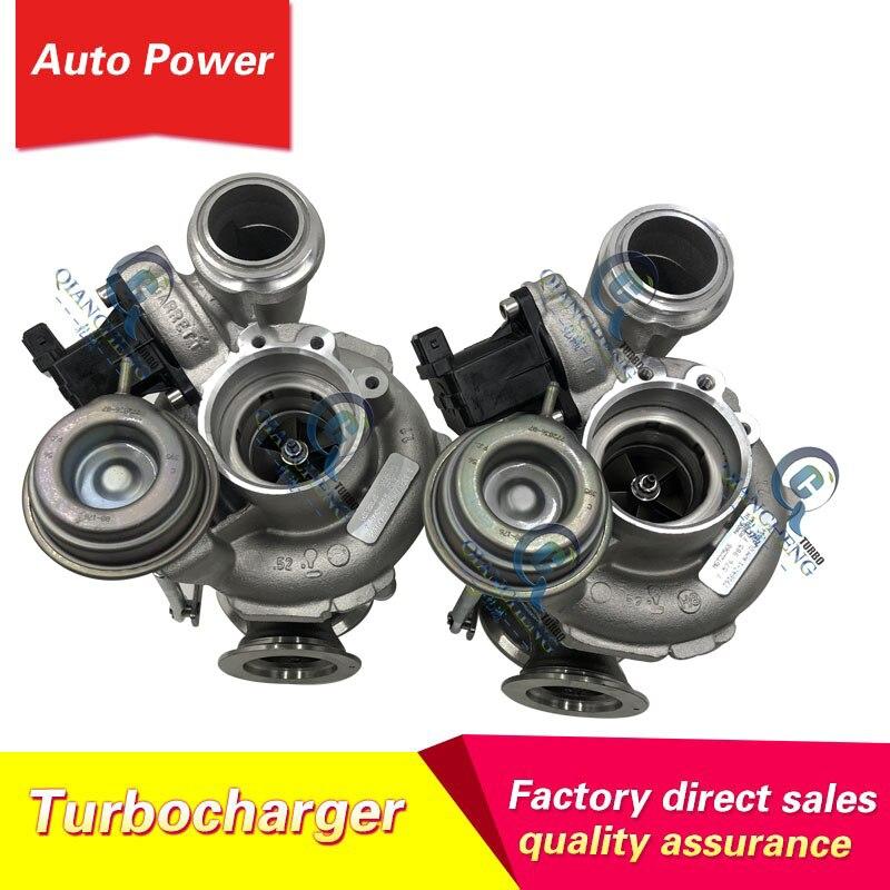 MGT2256S 2 uds Turbo 769155-0012, 793647-0002, 793647-7-793647-1 turbocompresor para BMW X6 N63 4,4 T turbo