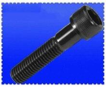Vis M3.5 allen à douille intérieure   grain moleté, tête ronde, vis mâle, acier au carbone, 6mm-45mm de long, 20 pièces