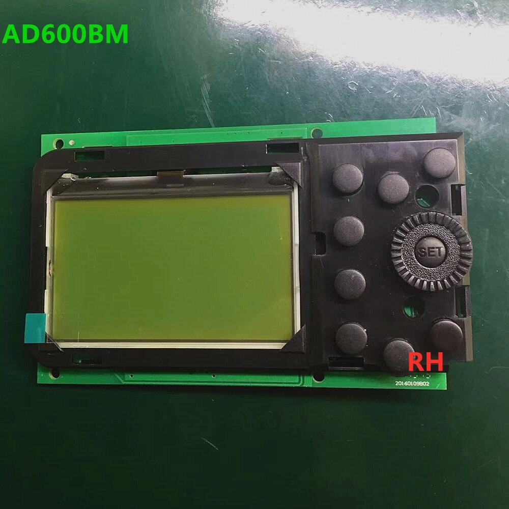 Neue Original Für Godox AD600BM Mainboard AD600M AD600 BM Hauptplatine LCD Display mit Rahmen Motherboard Taste Speedlite Teil