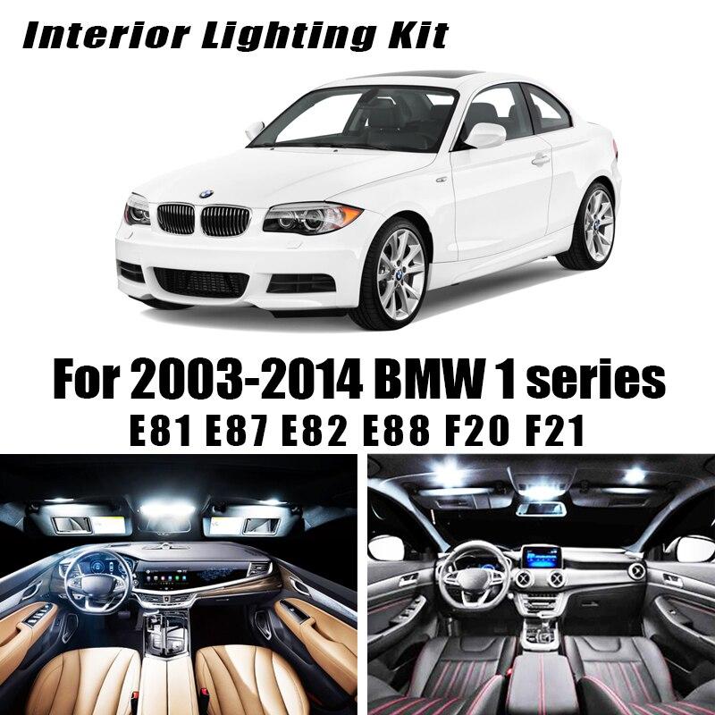 Canbus LED car interior light bulbs kit for 2003-2014 BMW 1 series E81 E87 E82 E88 F20 F21 116i 118i 120i 125i 130i 135i M135i