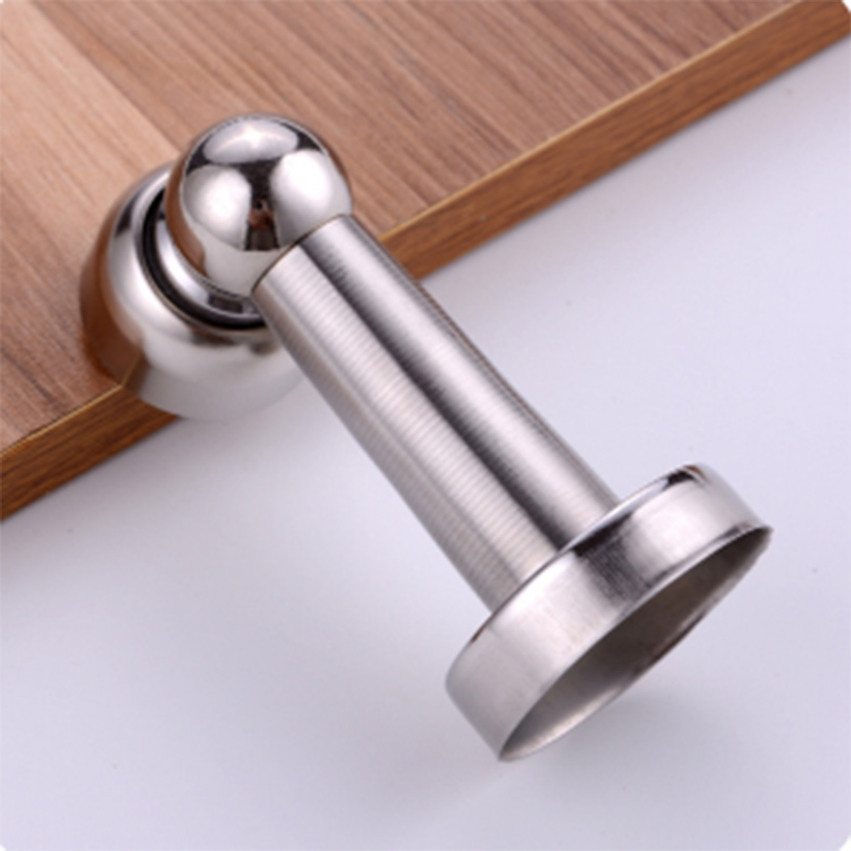 5 uds. Potente tope magnético para puerta de Hotel de oficina en casa para evitar golpes de acero inoxidable