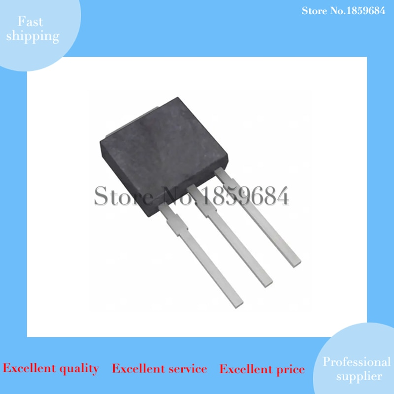 10 pces hu60n03 to-251(I-PAK) 30v 60a (tc)