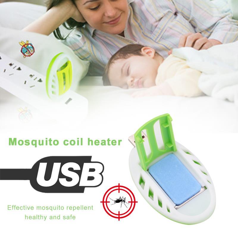 USB Безопасность Портативный Удобный Электрический москитный Отпугиватель Комаров Репеллент убийца нагреватель фимиама насекомых домашних вредителей Управление