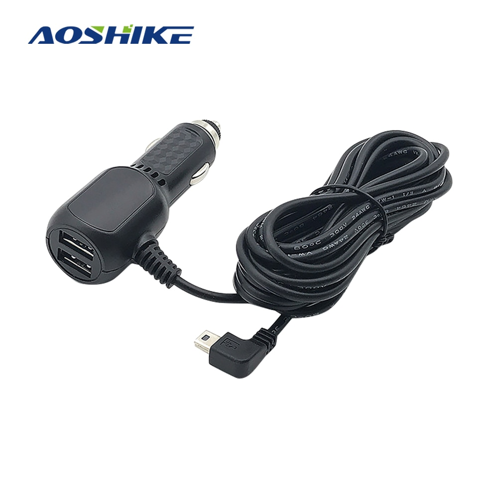 AOSHIKE MINI USB 5V 2A USB Car Power Charger Adapter Auto Car Accessories Car USB Charging Power For