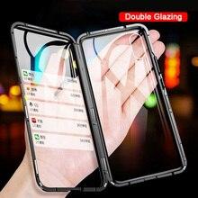 360 étui pour Vivo en métal magnétique Nex 3 V15 Pro Y98 Y85 Y17 Coque en verre trempé pour Vivo Y19 U3 étui amortisseur