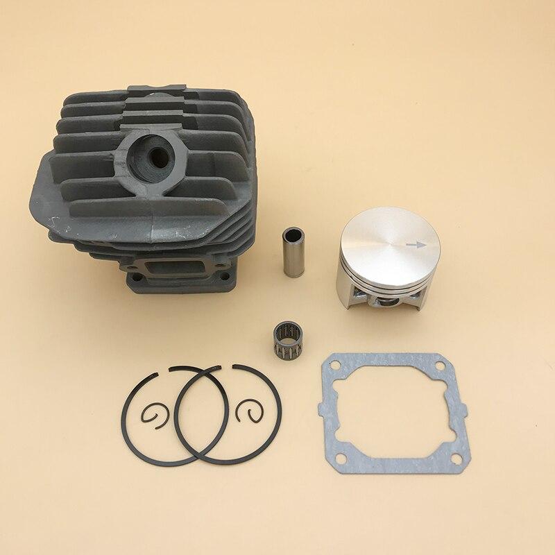 Kit de montagem de cilindro de pistão de metal, peças de reconstrução de motosserra, para stihl 044 ms440