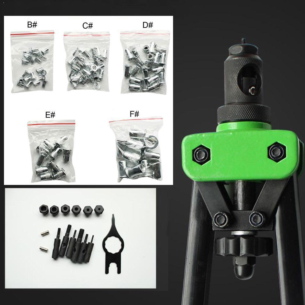 8/9.5/13/14/17Inch Riveter Gun Auto Rivet Tool Heavy Repair For Decoration Nail Tools Tools Hand Gun Nuts U0V2