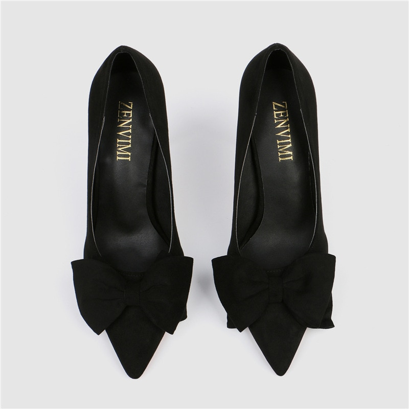 New Hot Korean Version of The 2020 New Fashion Sweet and Fine High-heeled Pumps High Heels Luxury Women Shoes