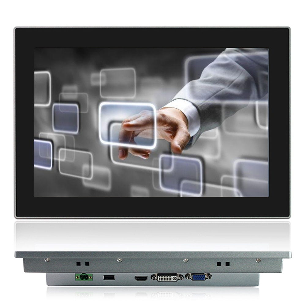 12 Inch VGA HDMI Industrial Lcd Monitor for Tablet Display Screen with Touch Screen Embedded Installation