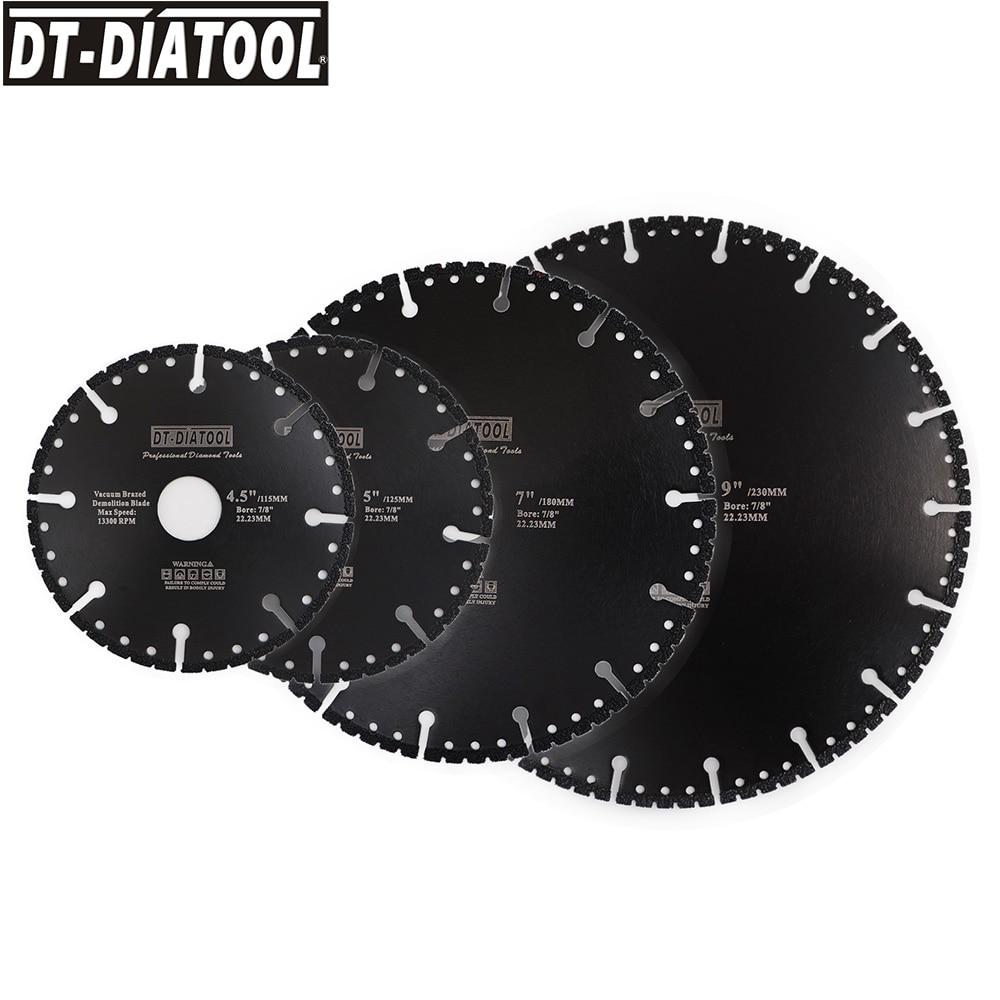 1pc Vacuum Brazed Diamond multi Purpose Disc Demolition Blade Dia 4.5