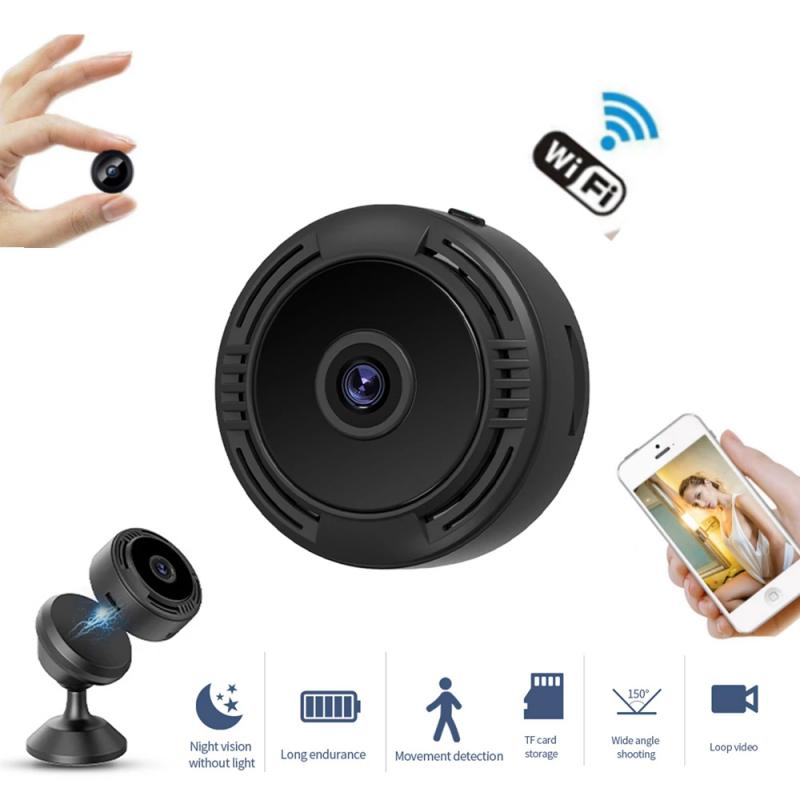 Mini Wifi IP Camera HD 1080P Wireless Indoor Camera Nightvision Two Way Audio Motion Detection Baby Monitor V380 Fast Delivery