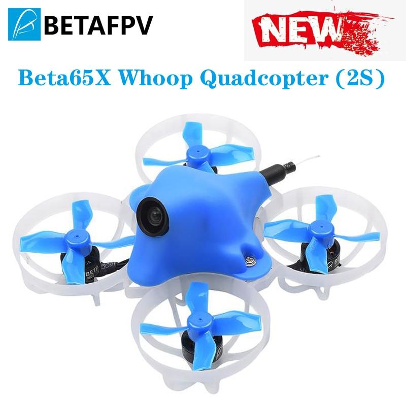 Beta65x 2 s minúsculo whoop quadcopter 65mm indoor fpv racing com f4 aio 2 s fc 0802 14000kv motor c01 pro micro câmera para pequeno whoop