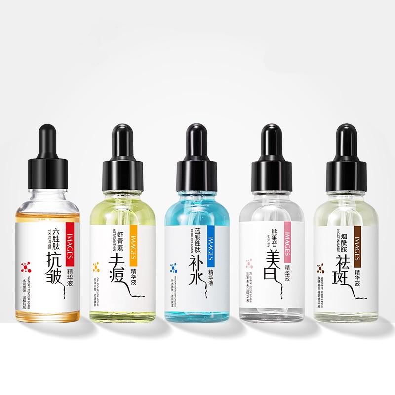 Hydrating Anti-Wrinkle Facial serum Brightening Moisturizing Whitening Anti-Aging Firm Oil control Freckle Essence Face Serum