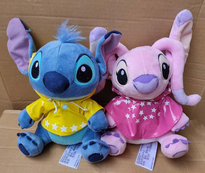 ¡Nuevo! Chubasquero de Ángel de lilo & stitch muñeco de juguete de peluche bonito