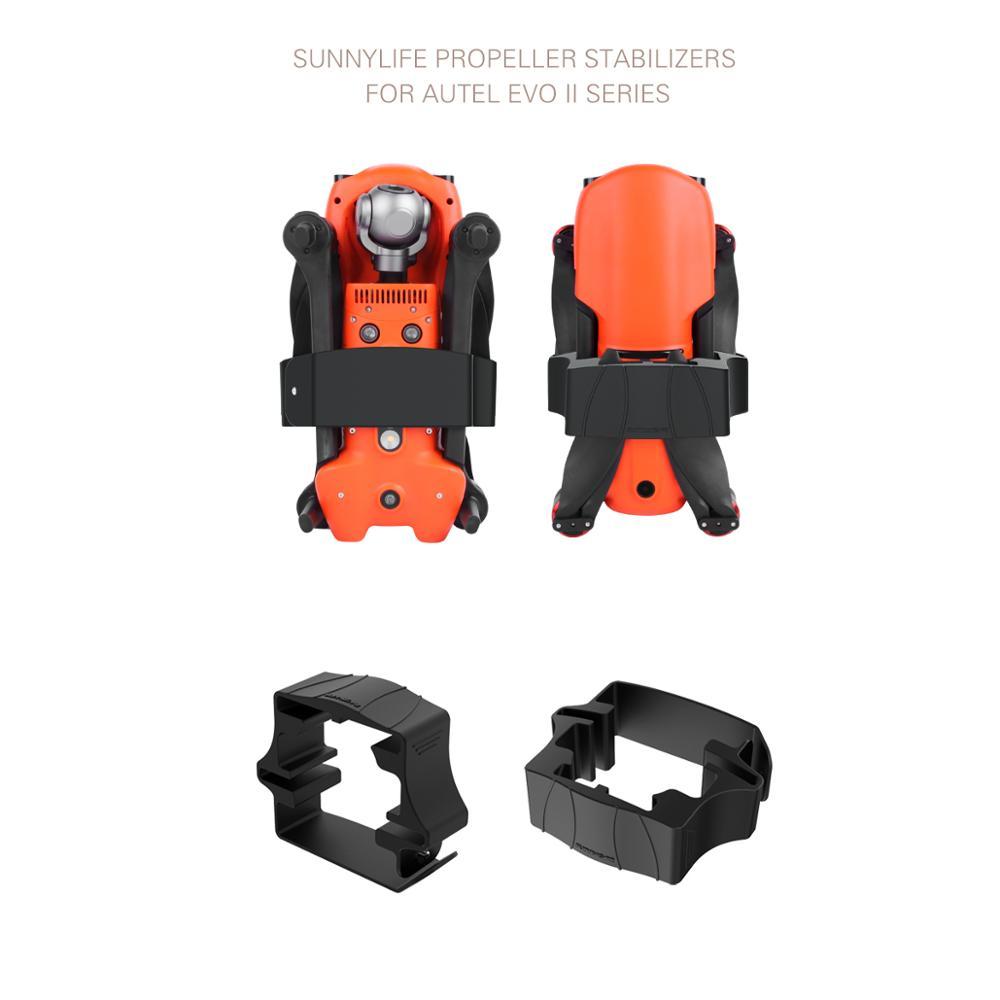 Soporte de piezas de fijación de accesorios de hélice de Drone para Autel EVO II Dron Quadcopter con cámara Accesorios