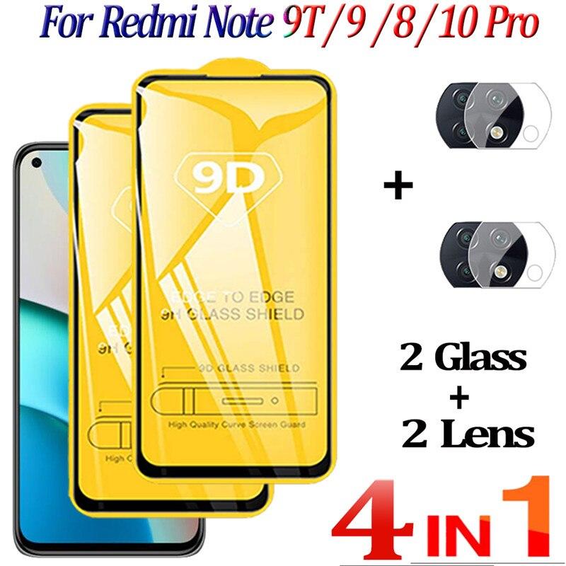 Cristal Templado Redmi Note 9T,Xiaomi Note9 T Glass Note10 8 Pro Protector...
