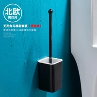 nordic creative toilet brush bathroom cleaning wall mounted tools eco friendly toilet brush escobilla wc home products db60mt