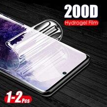 Film souple Hydrogel 200D pour Samsung Galaxy S10 S20 Plus protecteur décran Ultra sur Samsung s10 + s20 + s 20 10 plus film non verre