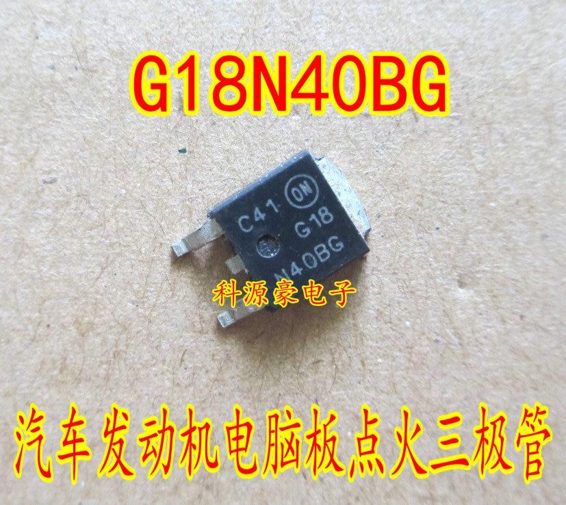20pcs/lot G18N40B G18N40BG NGD18N40CLBT4G TO252 DPAK Car transistor