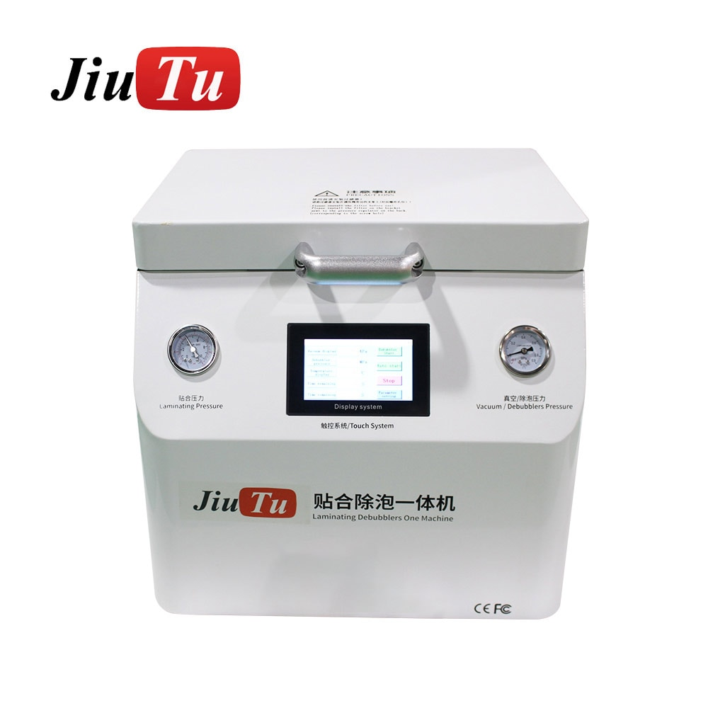 Jiutu LCD Repair Machine Vacuum OCA Lamination Machine With Bubble Remover Function 15Inch For iPad Refurbish