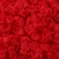 2000pc simulation rose petals wedding confession decoration hand spreading flower valentines day proposal romantic wedding room