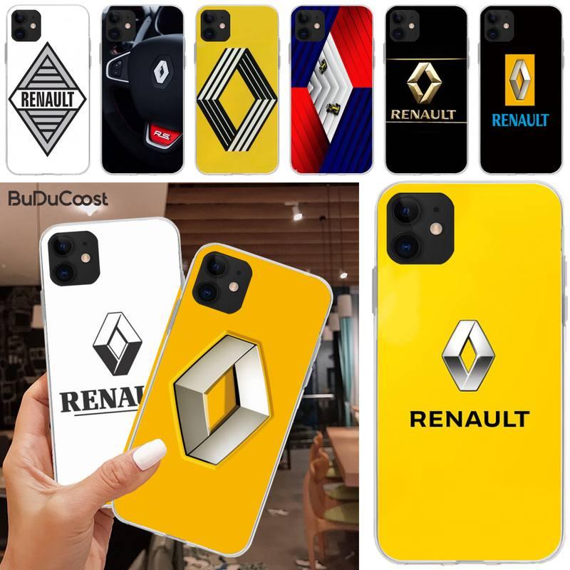 Jomy renault s capa de telefone para iphone 5c 5 6s plus 7 8 se 7 8 plus x xr xs max 11 pro max