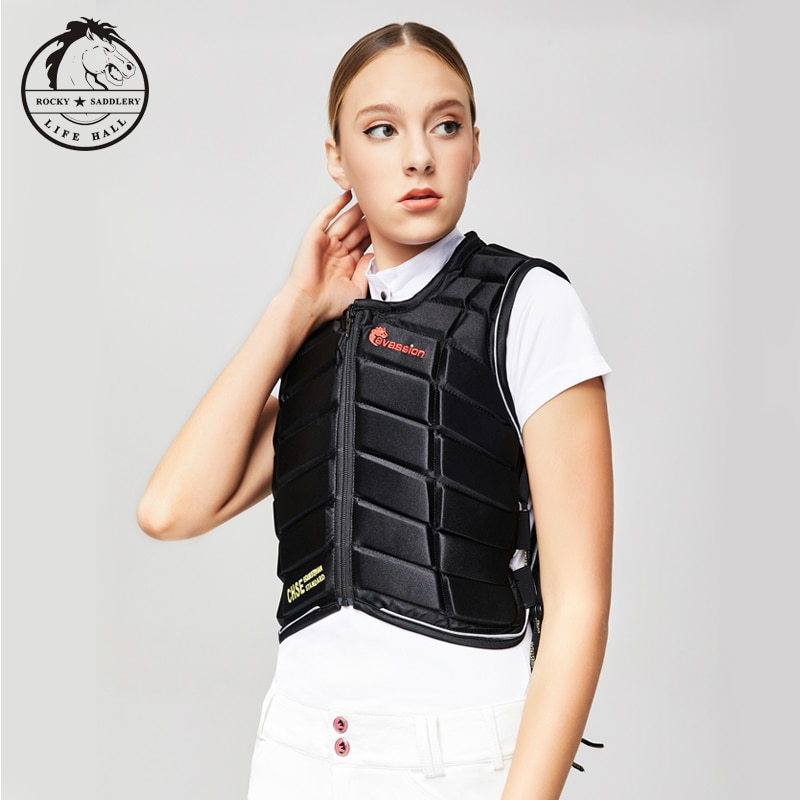 Cavassion Horse Riding Protective vest Thickened equestrian armor Equestrian riding safety equipment Unisex