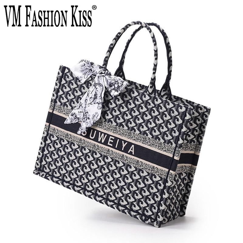 2021 Embroidery كتاب التطريز حمل حقيبة يد حقيبة كتف نسائية عالية الجودة حقيبة يد نسائية فاخرة تصميم حقائب اليد للنساء
