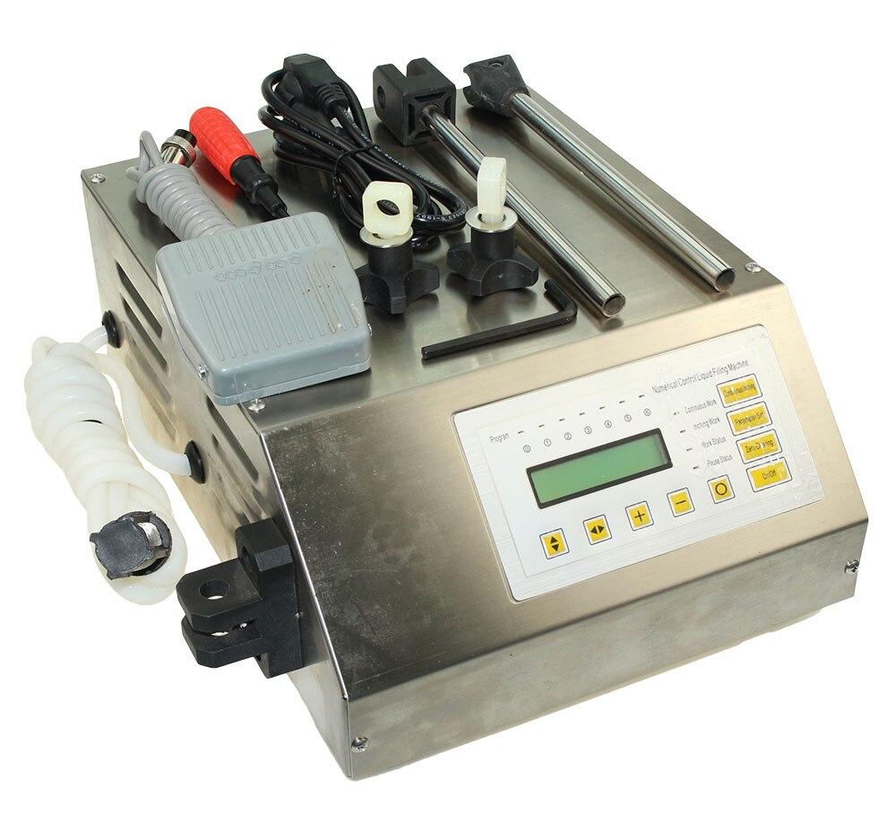 GFK-160 التحكم الرقمية السائل ملء آلة ، صغيرة المحمولة الكهربائية السائل المياه ملء آلة